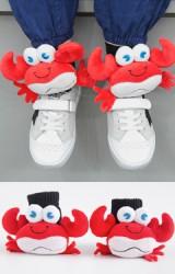 ถุงเท้าเด็กแต่งตุ๊กตาปูก้ามโต