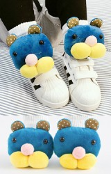 ถุงเท้าเด็กแต่งตุ๊กตาแมวน้ำ
