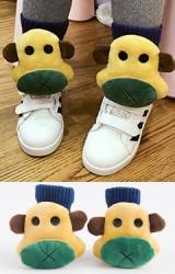 ถุงเท้าเด็กแต่งตุ๊กตาลิงน้อย