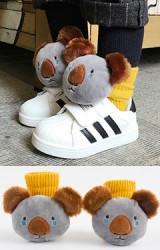 ถุงเท้าเด็กแต่งตุ๊กตาหมีโคอาล่า