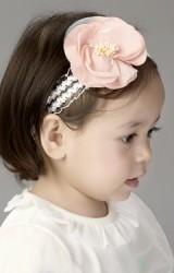 สายคาดผมดอกไม้หวาน สายคาดลูกไม้ขาว  Angel Neitiri