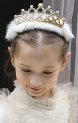 ที่คาดผมสาวน้อยมงกุฎแต่งขนมิ้ง  จาก  Angel Neitiri