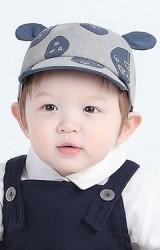 หมวกแก๊ปลายวงกลมและหัวใจ แต่งหูน่ารัก จาก KUKUJI