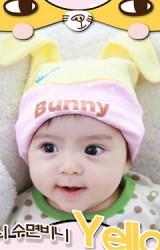 หมวกเด็กอ่อนหน้าการ์ตูน สกรีน Bunny จาก TUTUYA