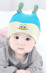 หมวกเด็กอ่อนลายการ์ตูนน่ารัก GZMM