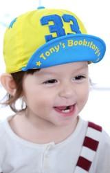 หมวกแก๊ปแต่งเลข 33 ปักรูปดาว ใต้หมวกสกรีนอักษร Goodkid