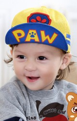 หมวกแก๊ปใต้ปีกหมวกสกรีนอักษร PAW จาก Goodkid