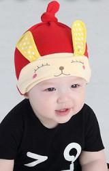 หมวกบีนนี่เด็กเล็กกระต่ายหูยาว