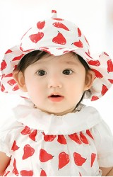 หมวกสาวน้อยลายลูกแพร์ จาก GZMM