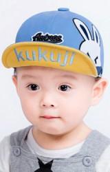 หมวกแก๊ปปักหน้ากระต่ายน้อย จาก KUKUJI
