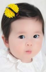 กิ๊บเด็กดอกไม้สีเหลืองแต่งตาเล็กๆ จาก Angel Neitiri
