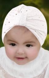 หมวกอินเดียผ้าเลื่อมทอง ไซส์เด็ก