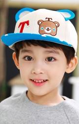 หมวกแก๊ปฮิปฮอปปักอักษร T และหน้าหมี TUTUYA
