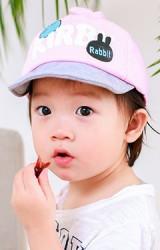 หมวกแก๊ปเด็กสกรีนอักษร Kirby Rabbit