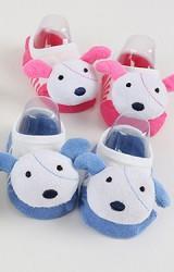 ถุงเท้าเด็กแบบสั้นแต่งการ์ตูนสัตว์นูนน่ารักๆ  มีกันลื่น kacakid