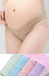 กางเกงในคนท้องเอวต่ำกล่อง 4 ตัว 4 สี