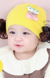 หมวกปอยผมสาวน้อยแต่งการ์ตูนนกฮูกน่ารัก จาก TIANYIBEAR