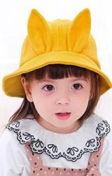 หมวกบักเก็ตแต่งหูกระต่ายตั้ง จาก TIANYIBEAR