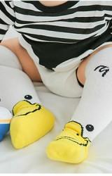 ถุงเท้าเด็กลายเป็ดน้อยน่ารัก