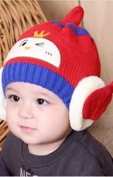 หมวกไหมพรมเด็กหูแต่งปีกเทวดา-นางฟ้า TIANYIBEAR