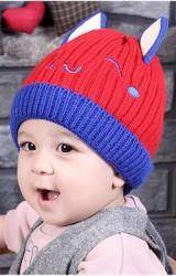หมวกไหมพรมเด็กหน้าการ์ตูนแต่งหูน่ารัก TIANYIBEAR