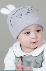 หมวกบีนนี่กระต่ายยิ้มหวาน