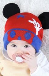 หมวกบีนนี่มิกกี้แต่งหูน่ารักๆ จาก TIANYIBEAR