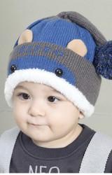 หมวกไหมพรมฮิปโปน่ารัก
