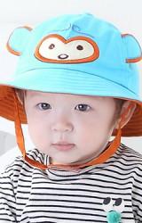 หมวกเด็กกันแดดหน้าลิงน้อยน่ารัก TIANYIBEAR