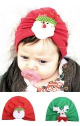 หมวกสาวน้อยแต่งซานตาคลอสและกวางเรนเดียร์