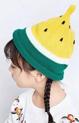 หมวกไหมพรมแตงโม