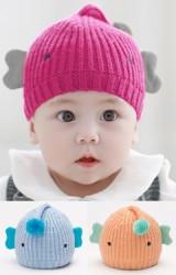 หมวกไหมพรมลูกเจี๊ยบดีไซน์น่ารัก TUTUYA
