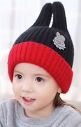 หมวกไหมพรมกระต่ายหูตั้ง