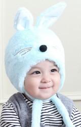 หมวกกระต่ายน้อย ขนฟูจาก TIANYIBEAR