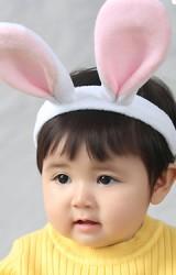 ที่คาดผมหูกระต่ายใหญ่หูตั้ง ผ้าขนนิ่ม Angel Neitiri