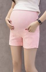 กางเกงคนท้องขาสั้น ผ้ายืดหยุ่นใส่สบาย