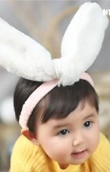 สายคาดผมหูกระต่ายใหญ่  หูกระต่ายผ้านุ่มฟู  Angel Neitiri