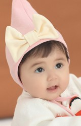 หมวกยอดแหลมแต่งโบว์น่ารัก จาก Angel Neitiri