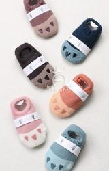 ถุงเท้าเด็กแบบหนาลายเล็บสัตว์ จาก Kacakid