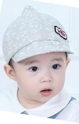 หมวกแก๊ปยอดแหลมลายแกะ ปัก Hello จาก TIANYIBEAR