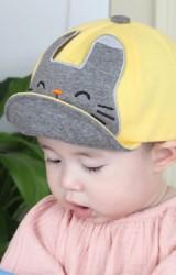 หมวกแก๊ปแต่งหน้าแมวน้อย TIANYIBEAR