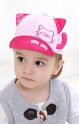 หมวกเด็กแมวเหมียว แต่งหางเล็กๆ น่ารัก