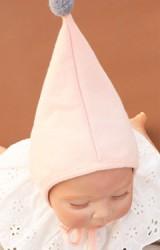 หมวกบอนเนตยอดแหลมแต่งปอมปอมเล็กน่ารักๆ Angel Neitiri
