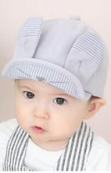 หมวกแก๊ปกระต่ายหูยาวน่ารัก ปีกหมวกโครงอ่อนพับได้