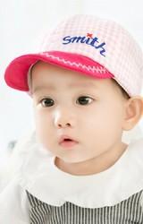 หมวกแก๊ปลายตารางปักอักษร Smith จาก GZMM