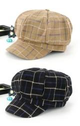 หมวกเด็กทรงนิวส์บอยลายตาราง