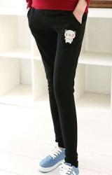กางเกงคลุมท้องขายาวสกรีนรูปหมีน้อยน่ารัก