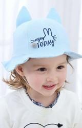 หมวกบัคเก็ตปักกระต่ายอักษร enjoy TODAY