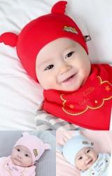 เซ็ตหมวก Angel  แต่งปีกนูนน่ารักๆ มาพร้อมผ้ากันเปื้อน  TIANYIBEAR