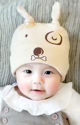 หมวกเด็กเล็กลายเจ้าตูบและกระดูก GZMM